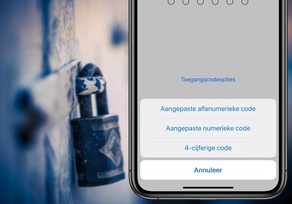 Tip: Zo stel je een sterk alfanumeriek wachtwoord in op je iPhone