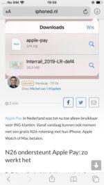 Bestanden downloaden Safari iOS 13 iPadOS 13 (2)
