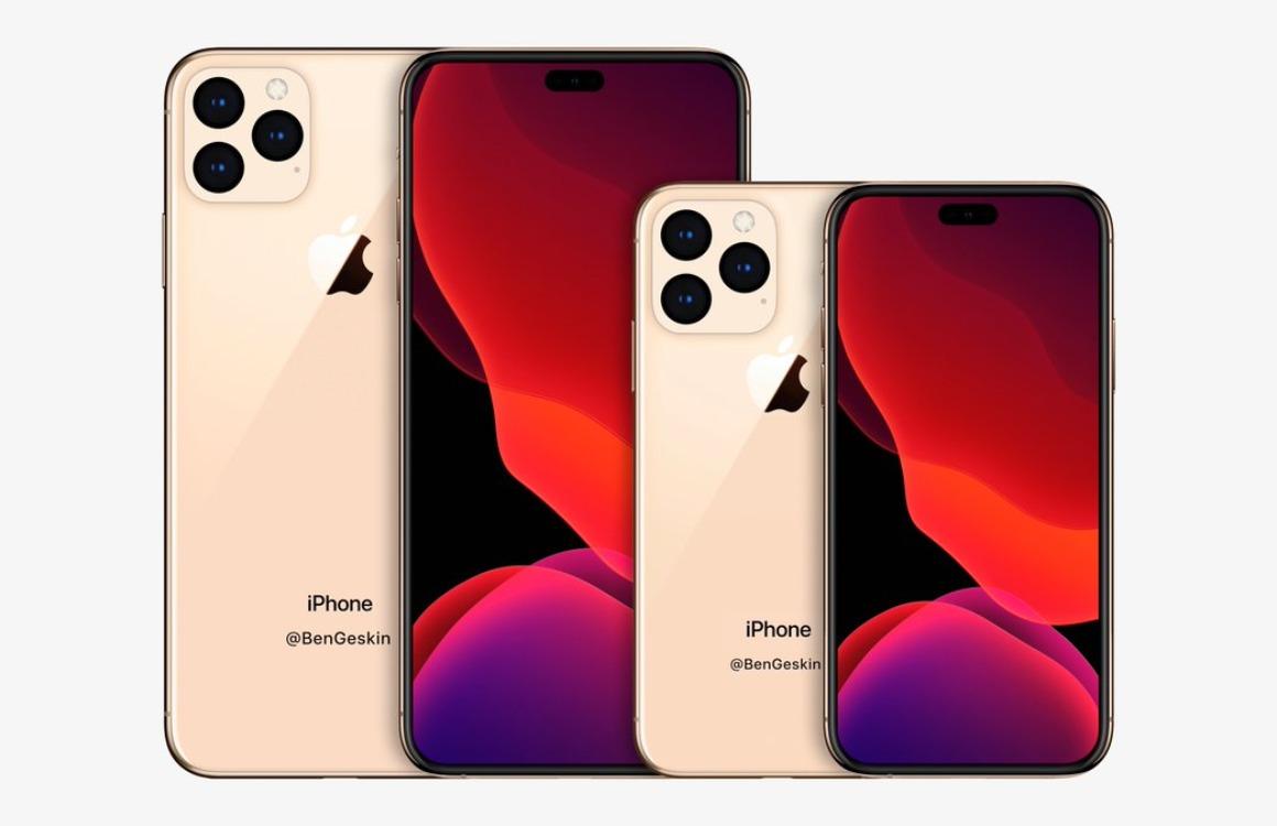 Renders: Kleinste iPhone 2020 wordt ongeveer zo groot als iPhone SE