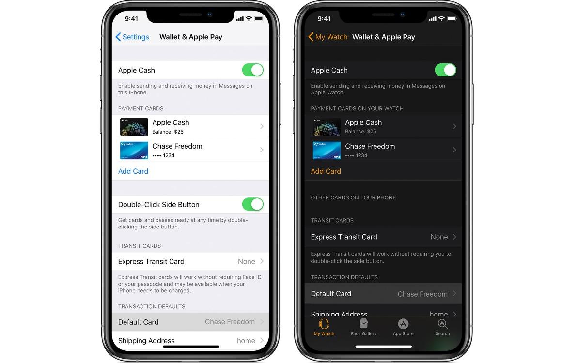 Apple Pay-betaalkaart wijzigen en verwijderen