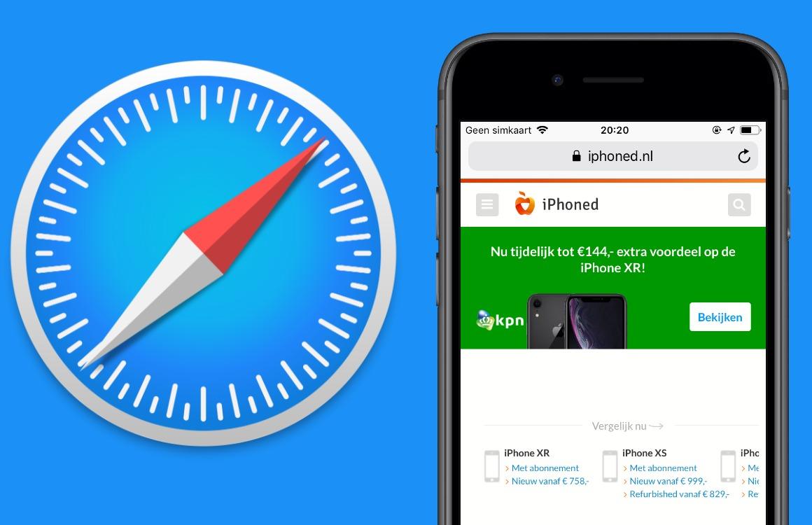 Tip: Startpagina in Safari veranderen op je iPhone, iPad en Mac