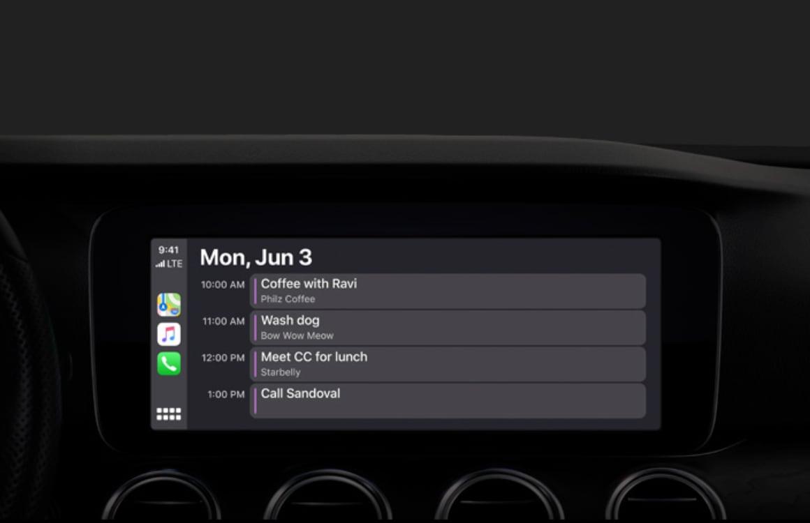 CarPlay-verbeteringen