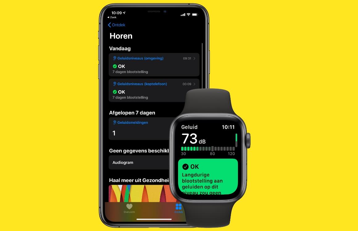 watchOS 6: Zo beschermt de Apple Watch-decibelmeter je gehoor