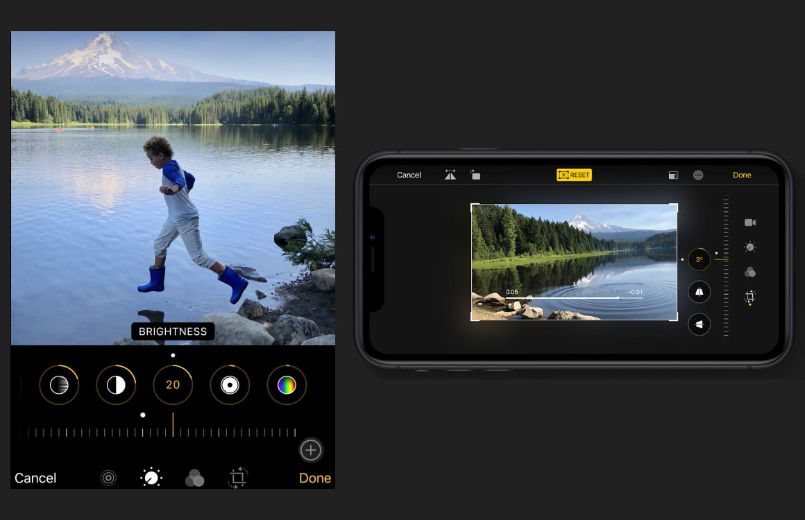 iOS 13 Fotos app