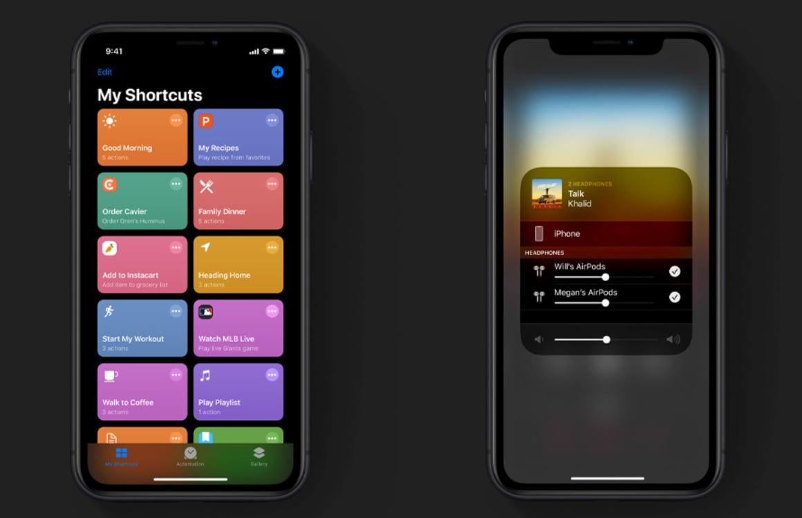 iOS 13 functies