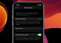 Geoptimaliseerd opladen: Zo redt iOS 13 de levensduur van je accu