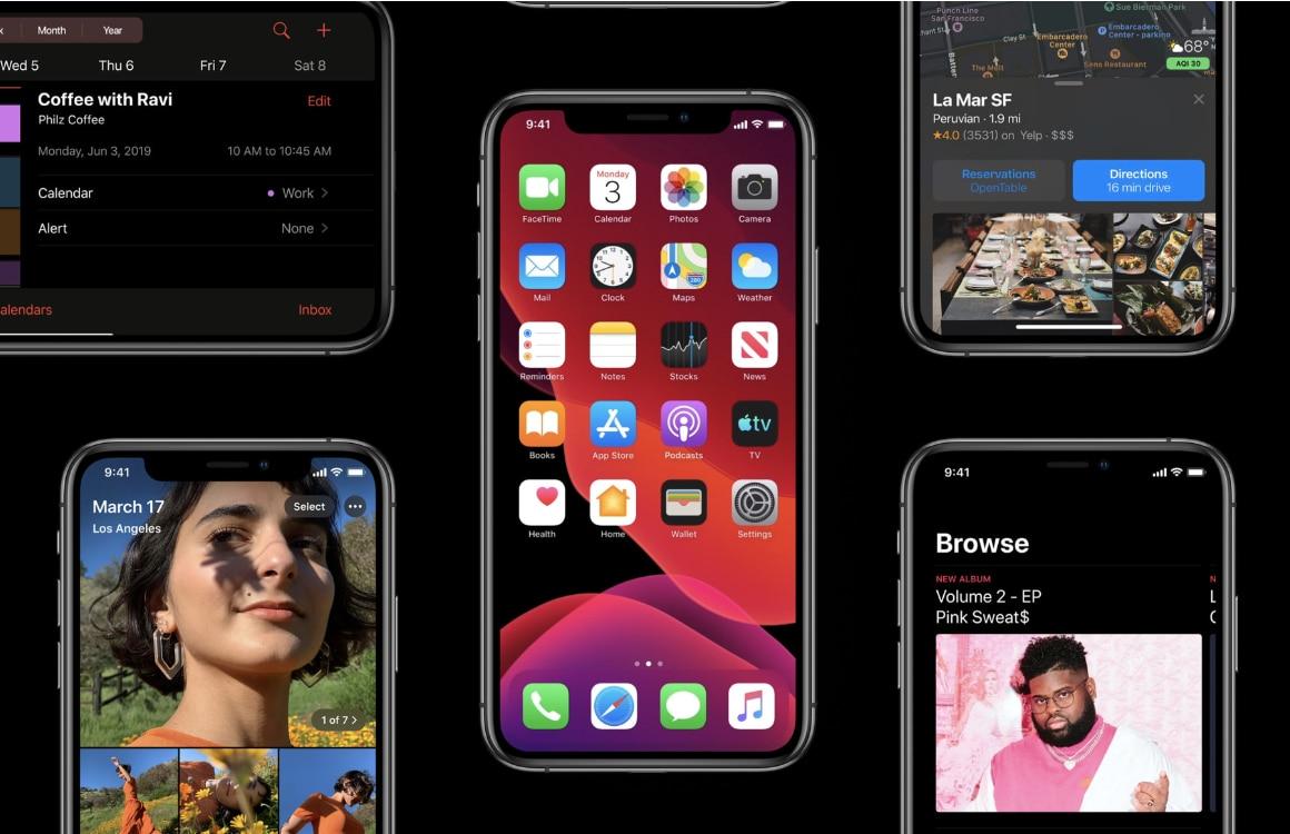 iOS 13 officieel: alles over de grote iPhone-update van 2019