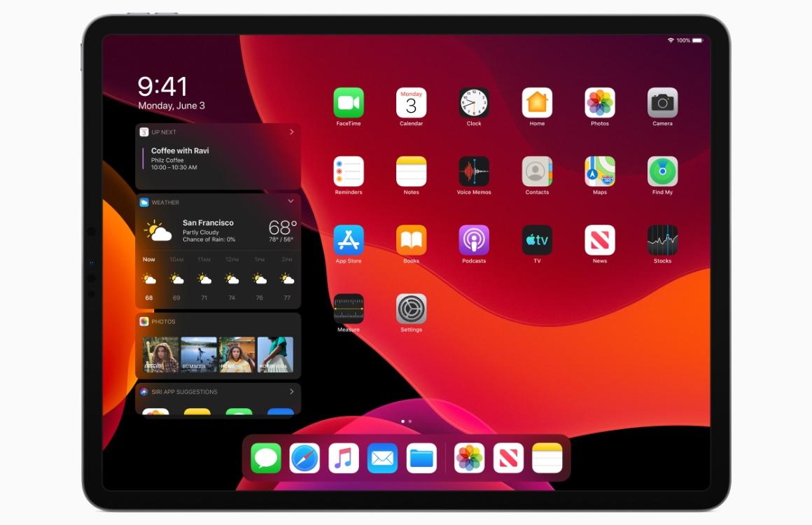 Apple onthult iPadOS: iOS speciaal voor de iPad