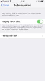 iPhone schermopname