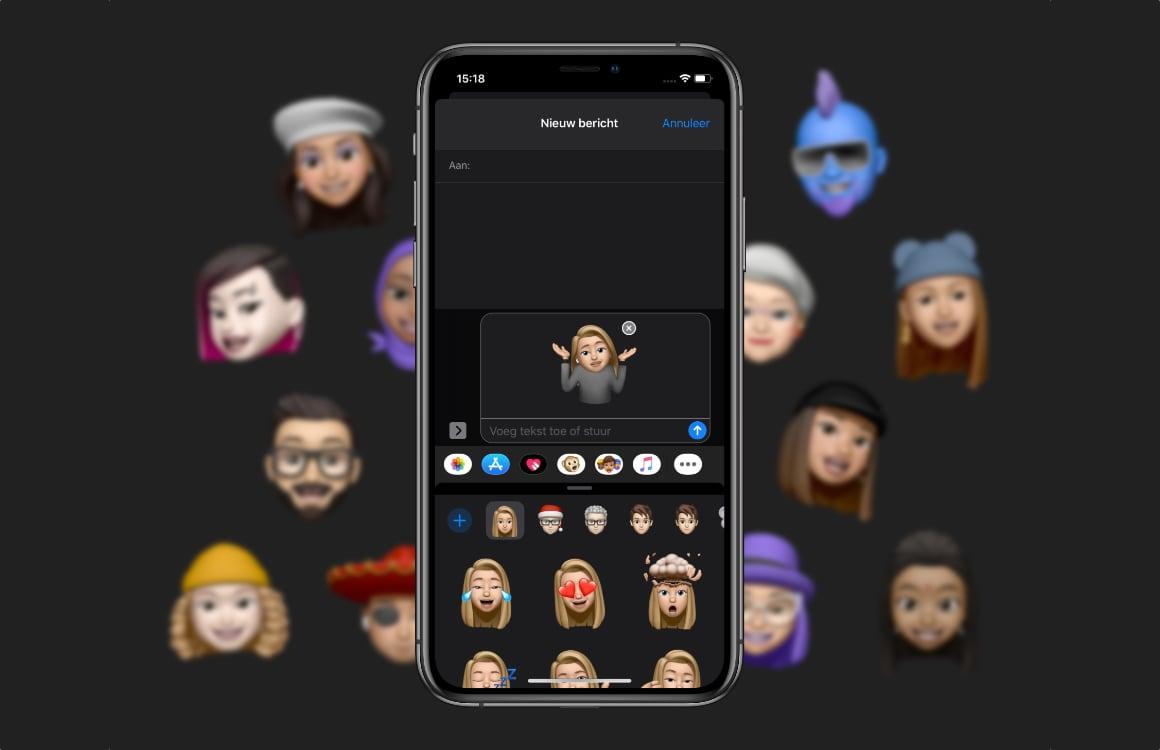 Memoji-stickers verwijderen op iPhone en iPad: zo doe je dat