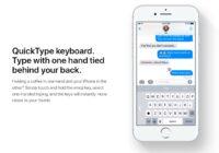 iOS 13: sneller typen met QuickType in het Nederlands