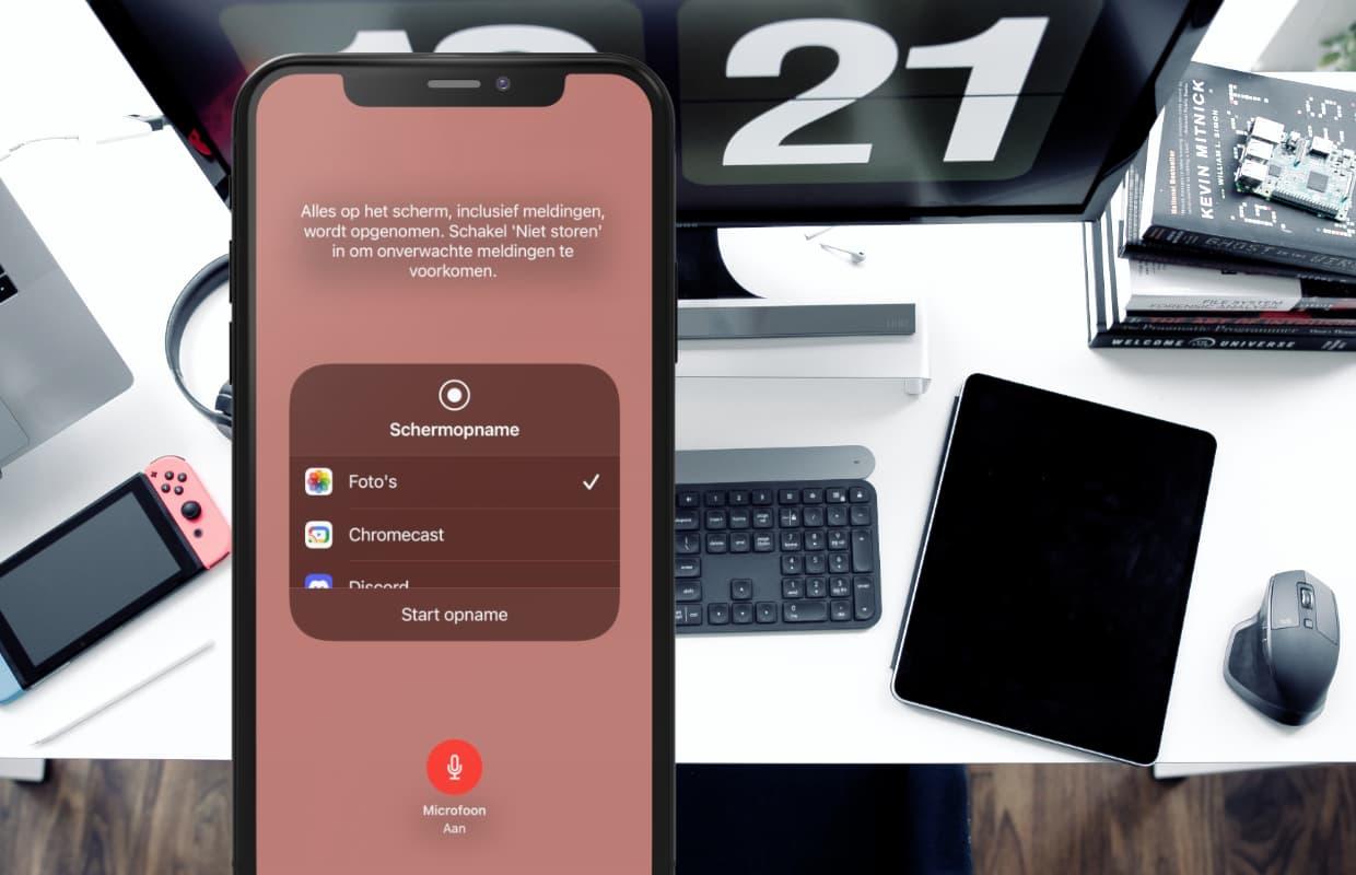 Tip: Zo maak je een schermopname op je iPhone of iPad