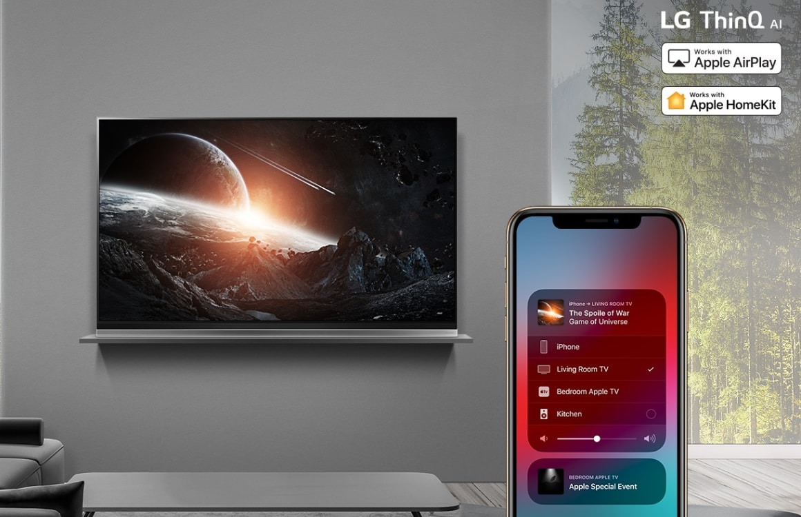 LG tv AirPlay HomeKit