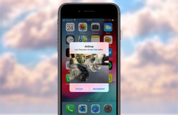 Onderzoekers misbruiken AirDrop om telefoonnummers in te zien