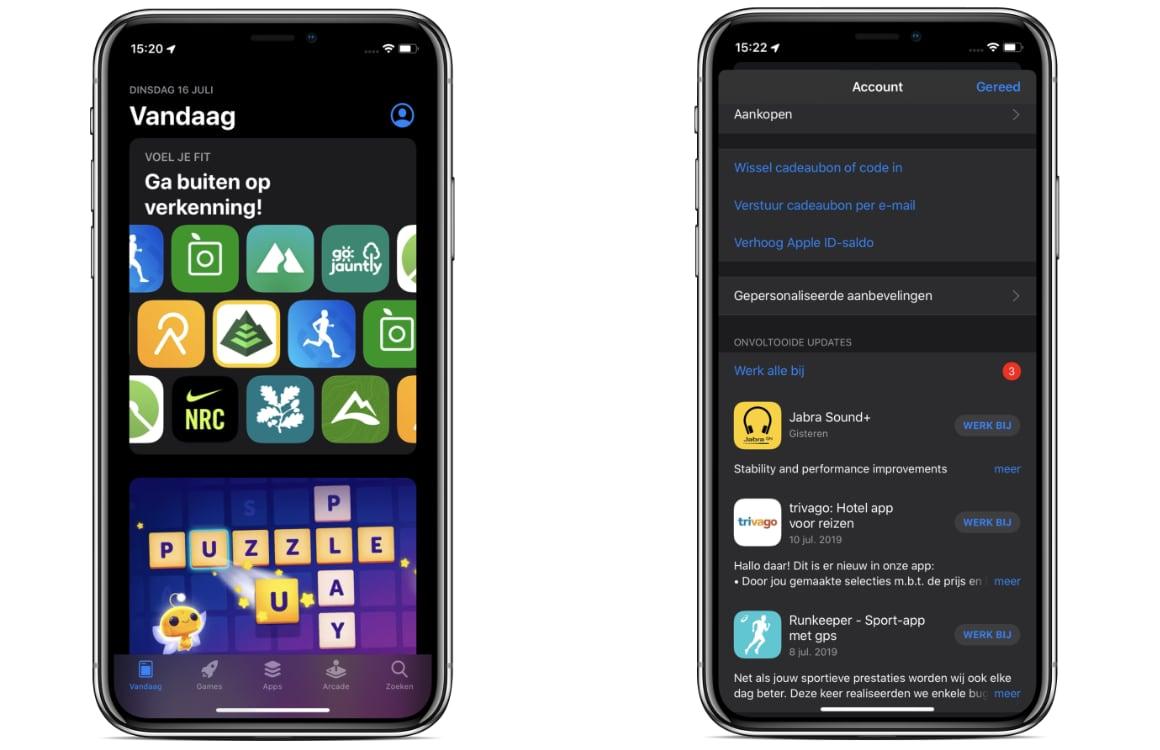 apps updaten iPadOS