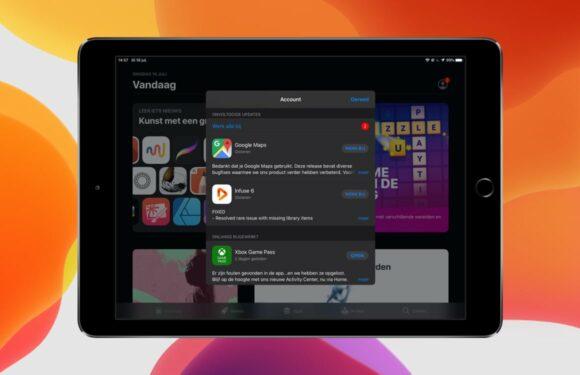 Zo kun je apps updaten in de App Store vanaf iOS 13 en iPadOS