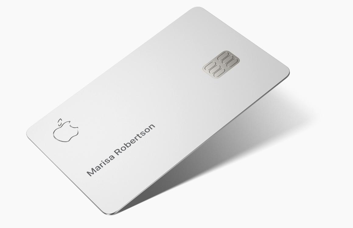 'Apple registreert Apple Card in Nederland en de rest van Europa'