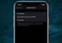 iOS 13-tip: zo hef je het downloadlimiet in de App Store op