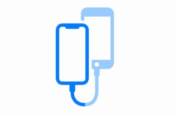 'iOS 13 laat twee iPhones bestanden uitwisselen met een kabeltje'