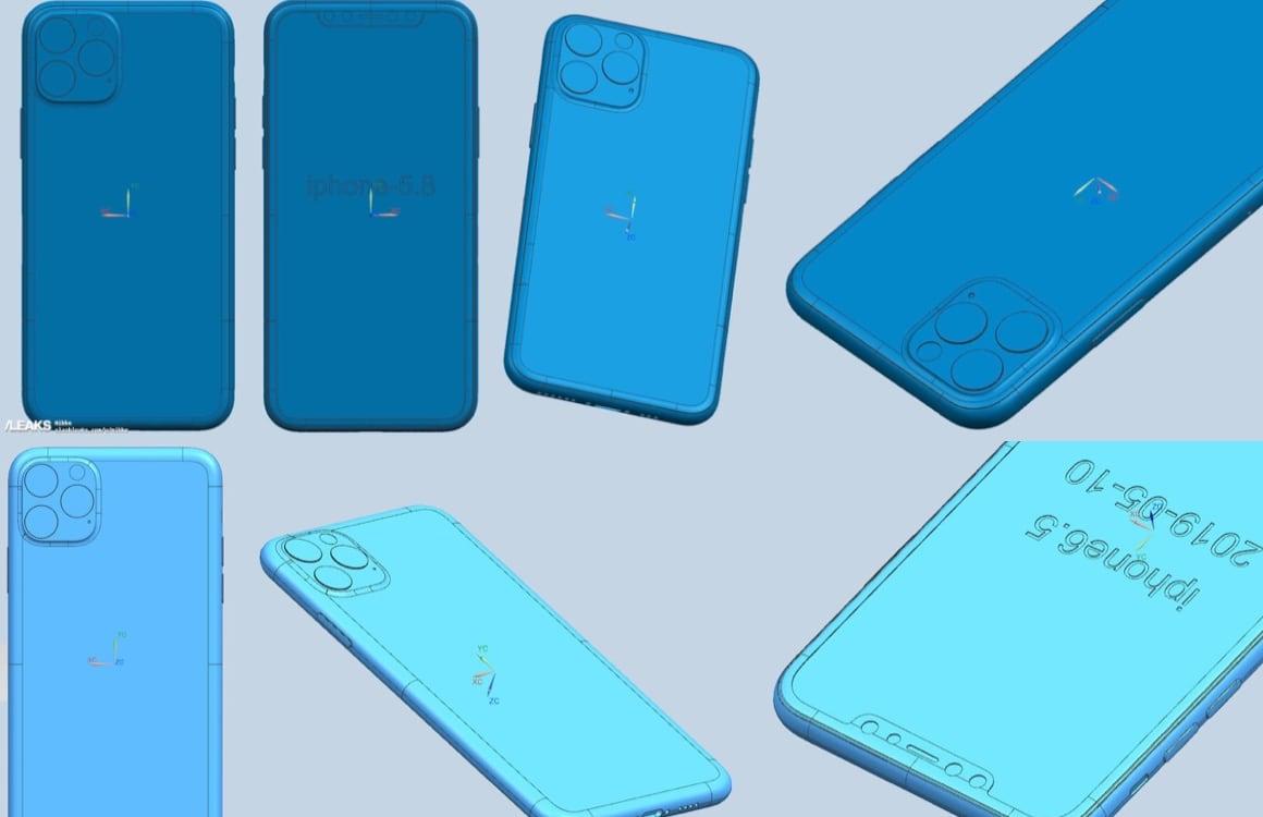 iPhone 11 renders