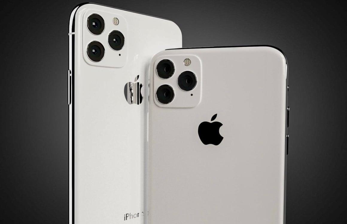'Alledrie de 2020 iPhones ondersteunen 5G en krijgen nieuw design'