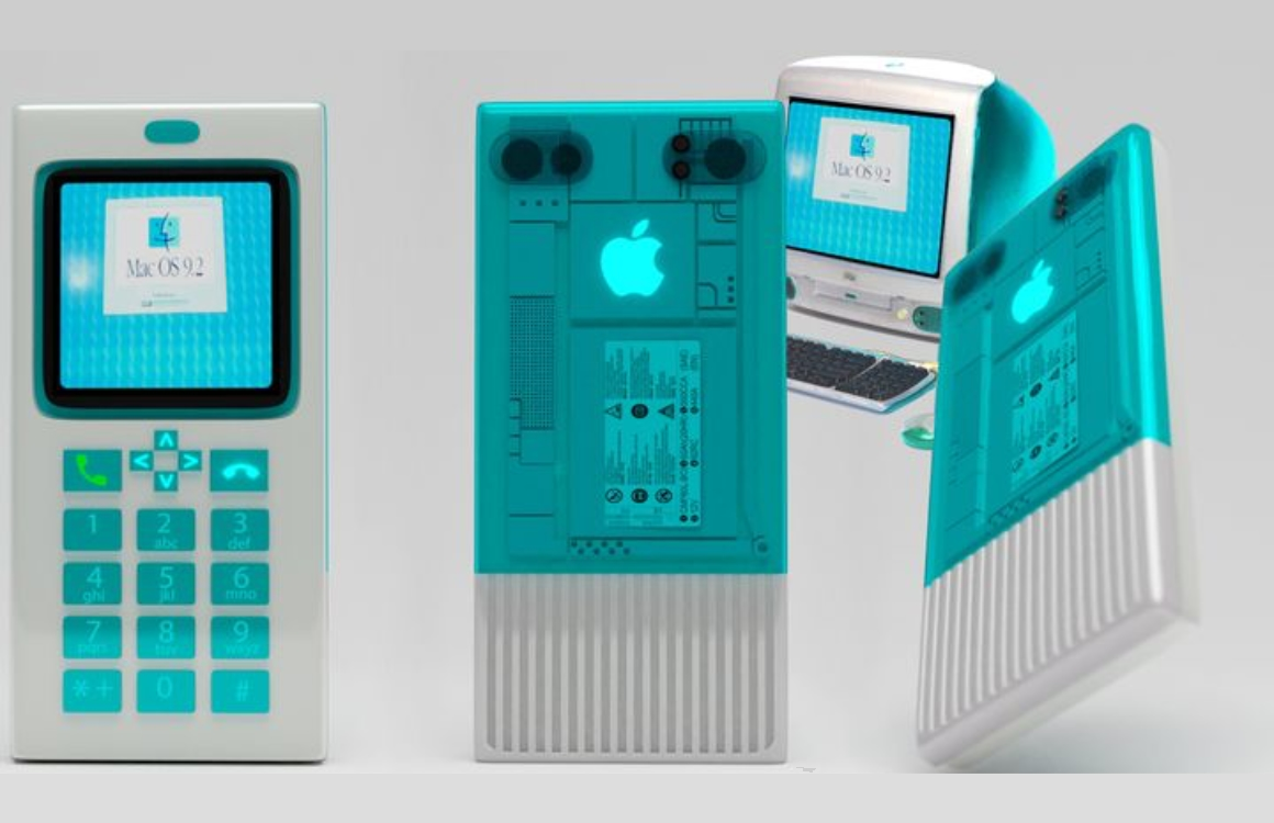 iPhone Macintosh concept
