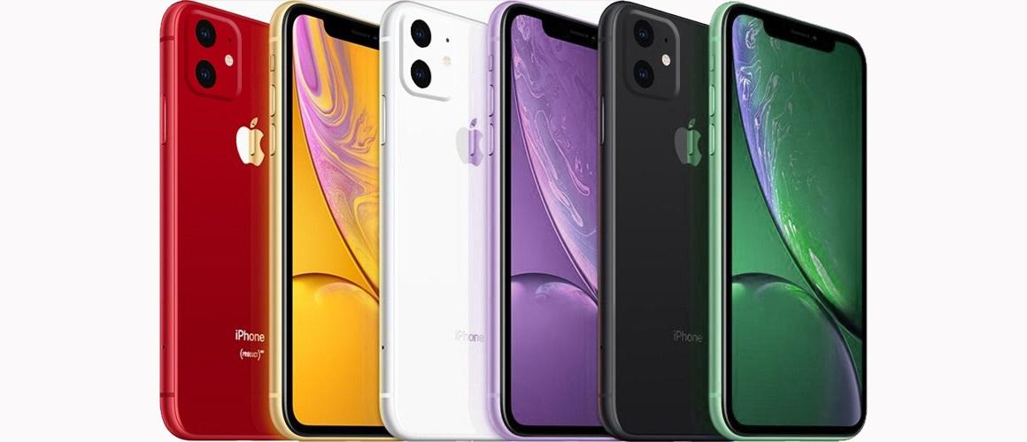 iPhone XR 2019 kleuren
