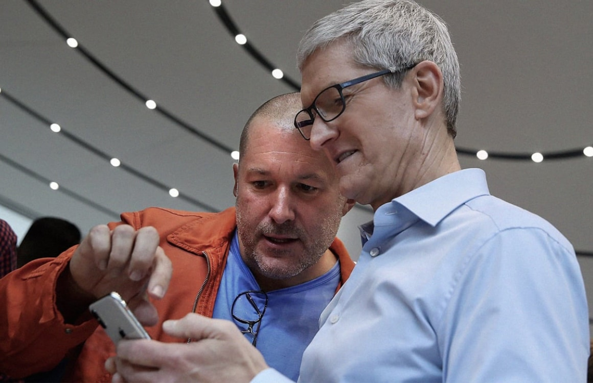 'Jony Ive gefrustreerd met Cooks gebrek aan interesse, sinds Apple Watch niet meer betrokken'