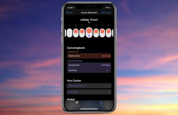 Zo kun je je menstruatiecyclus bijhouden op je iPhone of Apple Watch