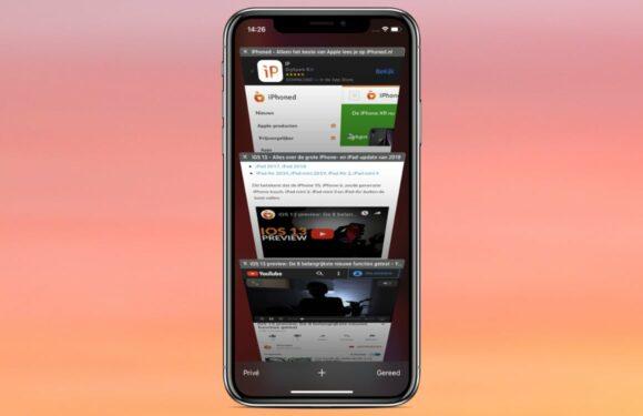 iOS 13-tip: zo laat je Safari automatisch tabbladen sluiten na gebruik