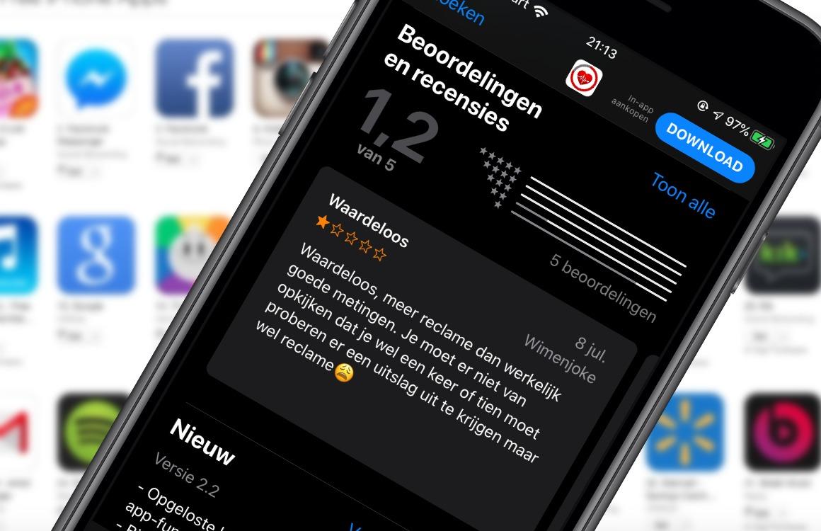 4 tips om nep-apps uit de App Store te herkennen