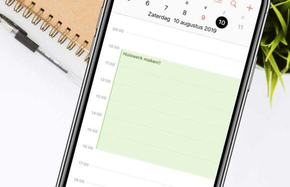 Overzicht: De 6 beste agenda-apps voor school en studie