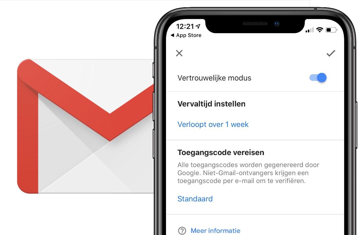 Gmail krijgt vertrouwelijke modus: zo verstuur je mails die zichzelf verwijderen