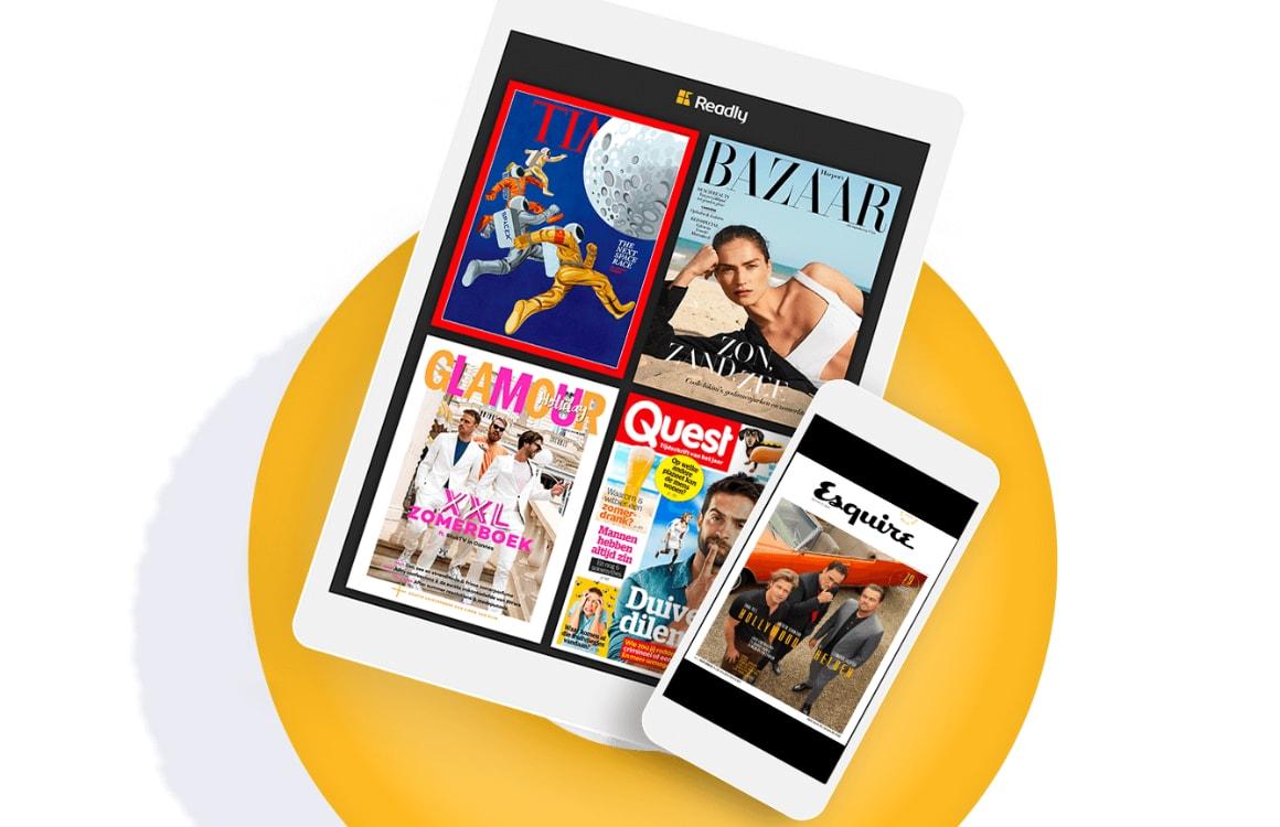 Maak kans op een iPad 2018, schrijf je in voor Readly (ADV)