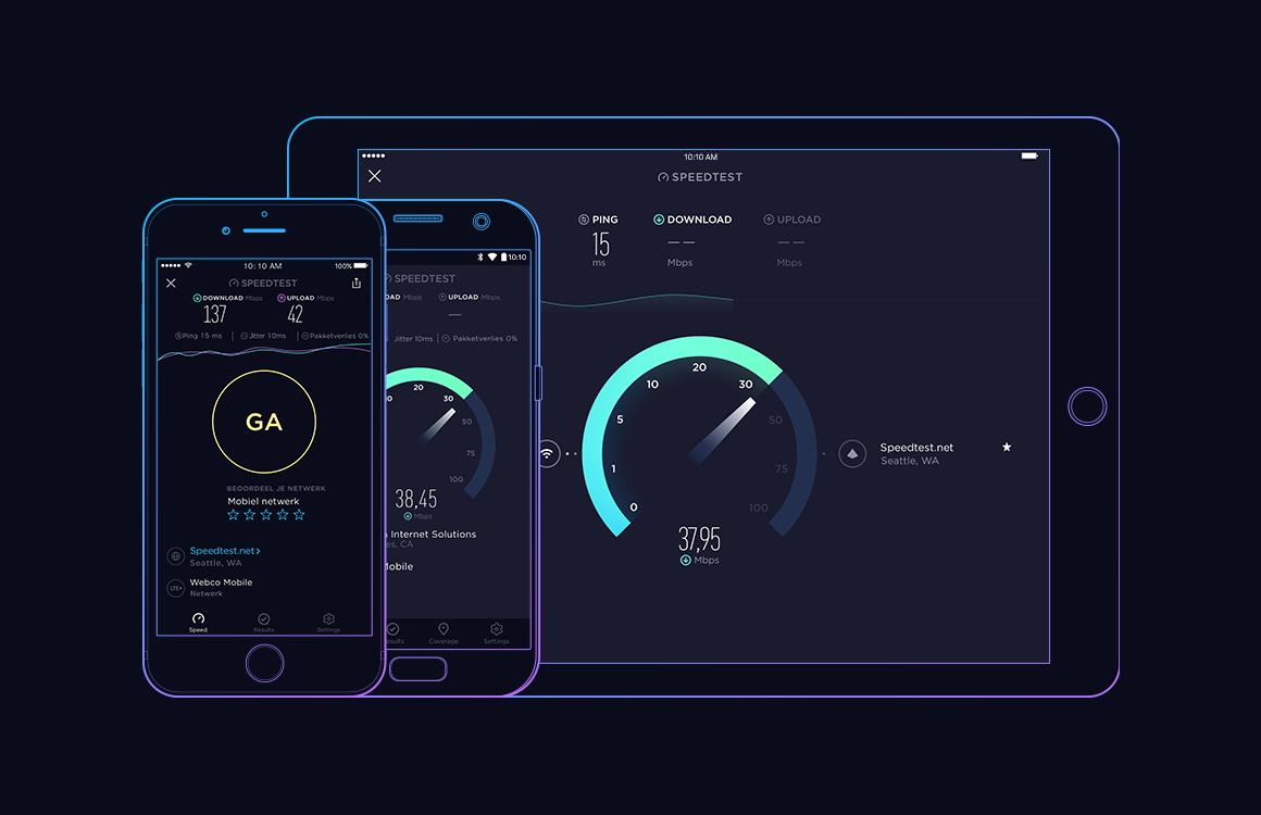 Nederlandse 4G-snelheid gemiddeld 60 Mbps, T-Mobile de snelste