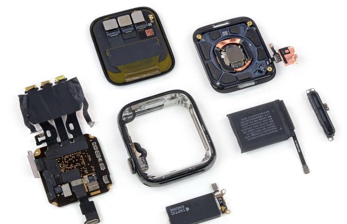 Teardown laat grotere accu van Apple Watch Series 5 zien
