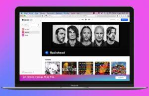 Apple Music webversie