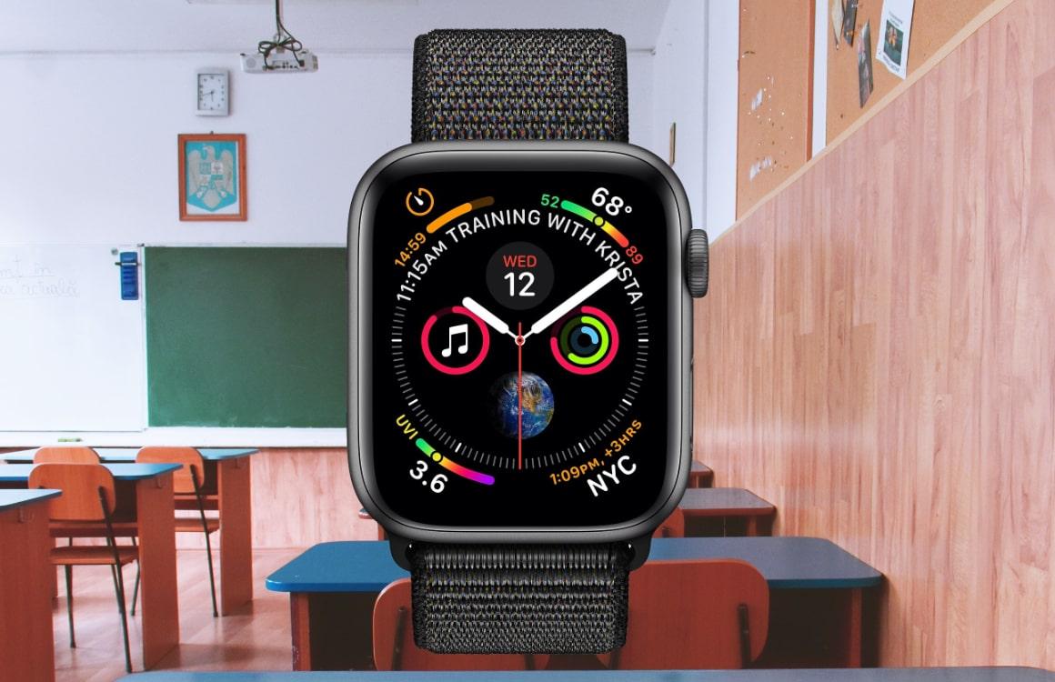 'Apple Watch krijgt speciale 'Schooltime' modus voor in de klas'