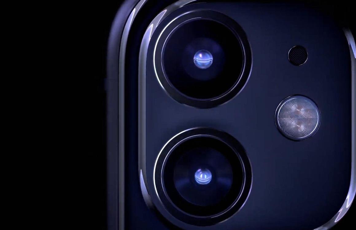 iPhone 11 camera's