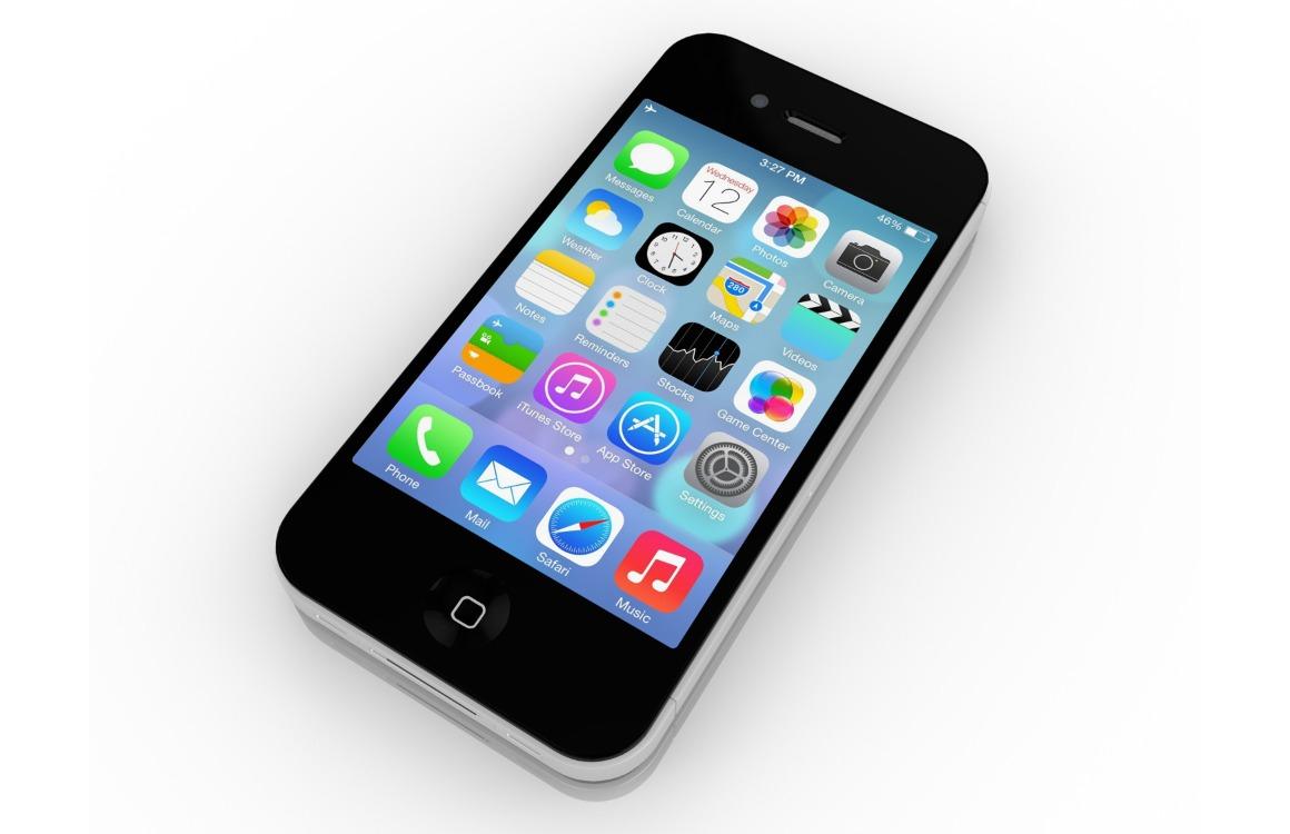 iPhone 2020 iPhone 4 ontwerp uitg