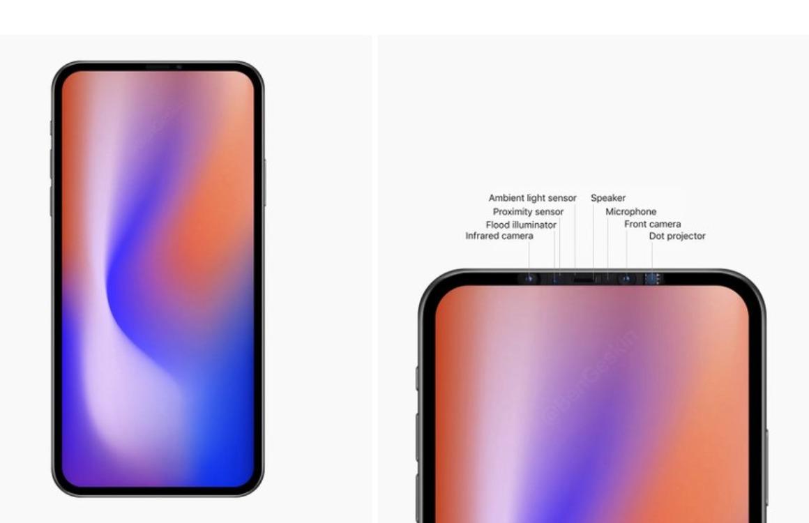 iPhone 2020 zonder notch