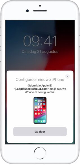 iphone overzetten