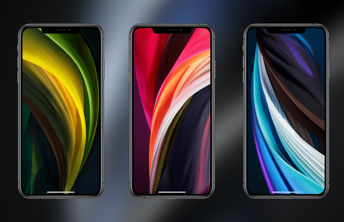 Download hier alle wallpapers van de iPhone SE 2020