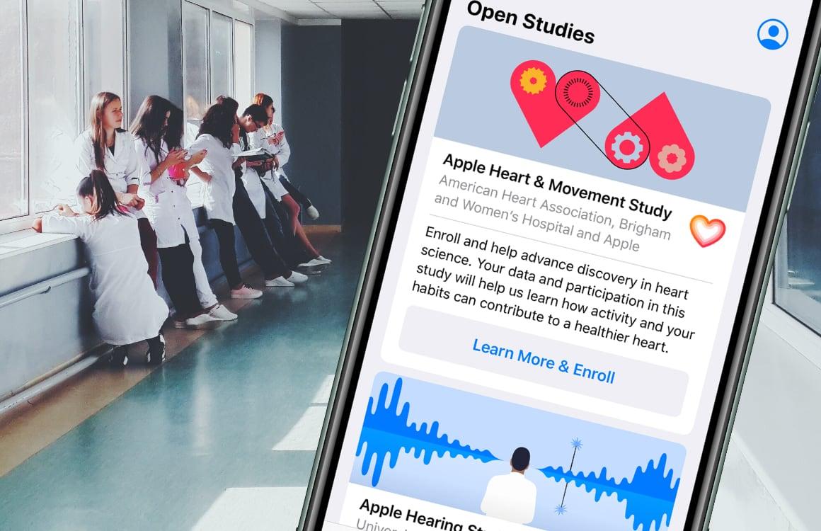 Apple start nieuw onderzoek naar gehoor, hartslag en vrouwengezondheid