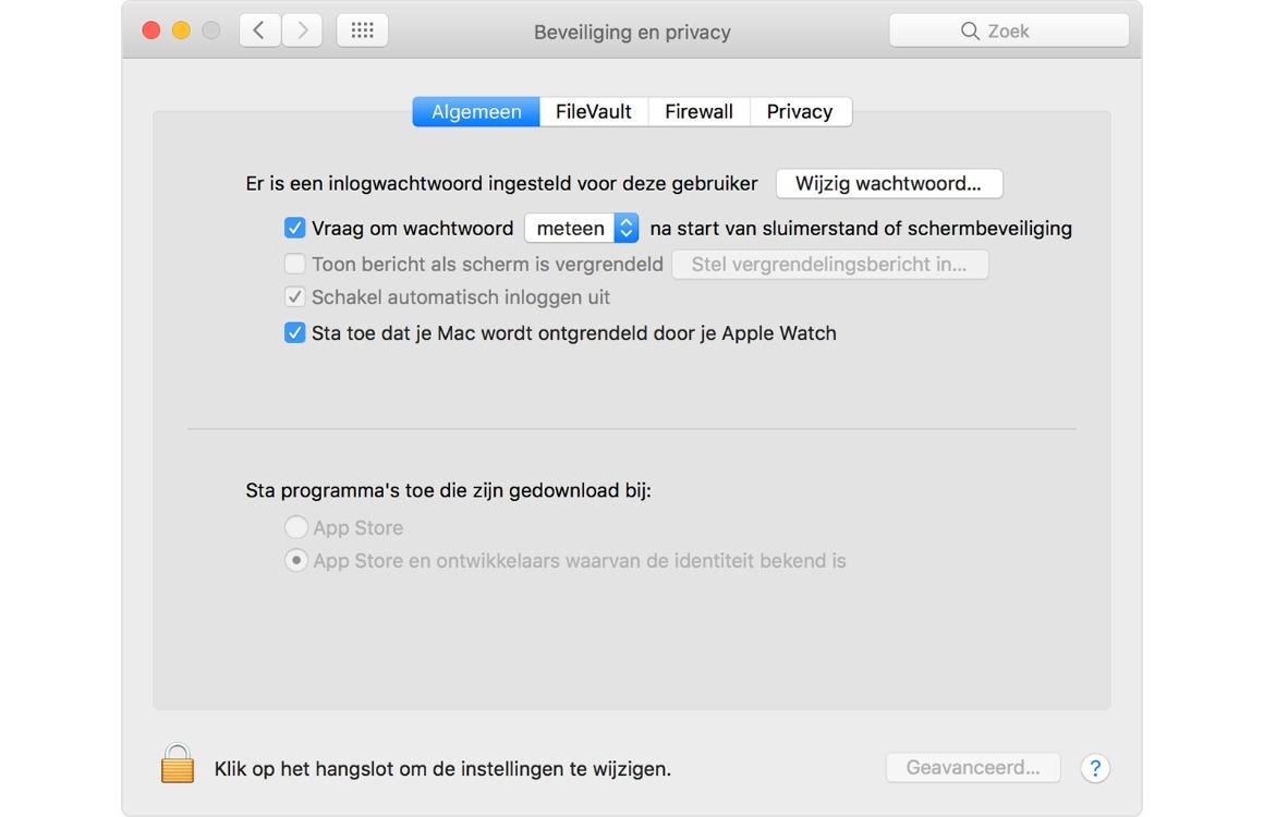 Mac ontgrendelen apple watch screen