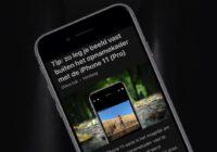 iOS 13-tip: geef websites dezelfde opmaak met de Reader-weergave