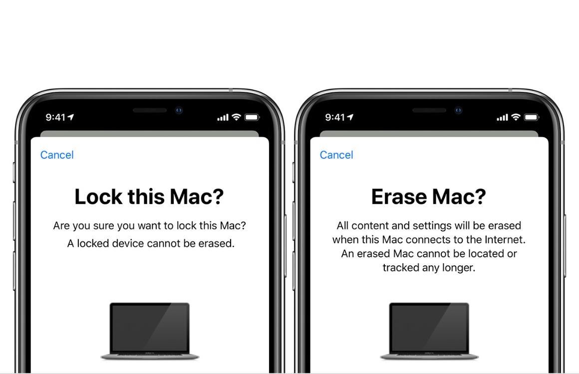 Zoek mijn Mac uitleg 2