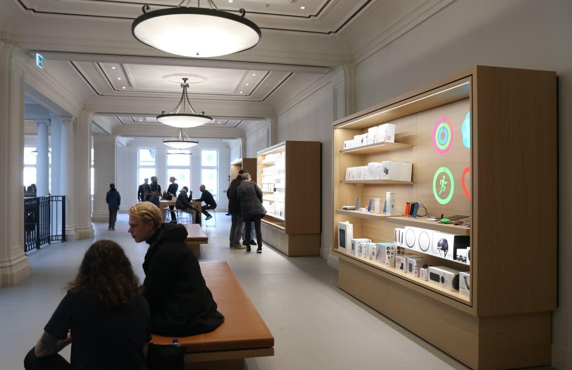 Reparaties en bestellingen blijven in Apple Store liggen totdat de deuren weer opengaan