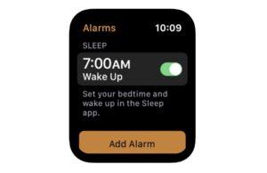 Apple Watch slaap-app