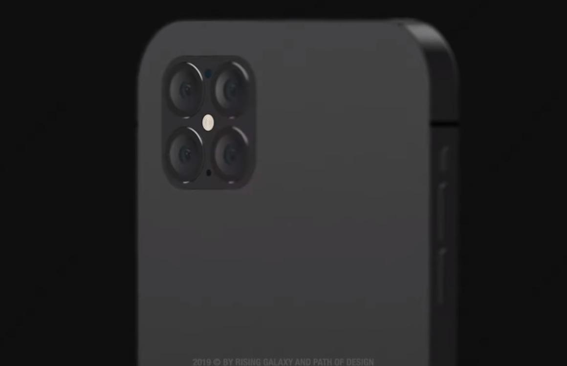 Concept: iPhone 12 Pro krijgt hoekig iPhone SE-ontwerp met 4 camera's